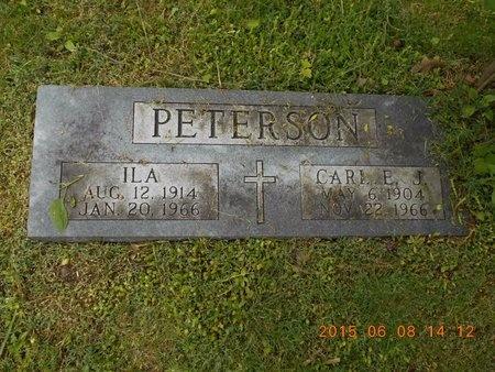 PETERSON, ILA - Marquette County, Michigan | ILA PETERSON - Michigan Gravestone Photos