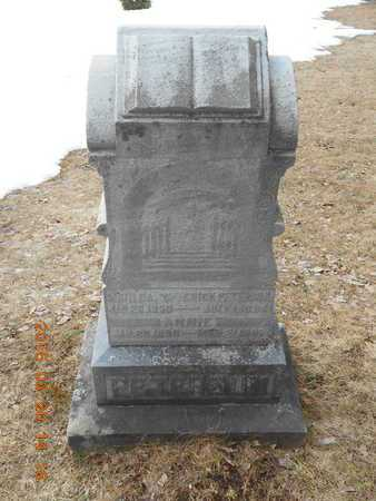PETERSON, FAMILY - Marquette County, Michigan   FAMILY PETERSON - Michigan Gravestone Photos