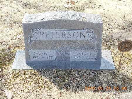 PETERSON, JOHN A. - Marquette County, Michigan | JOHN A. PETERSON - Michigan Gravestone Photos