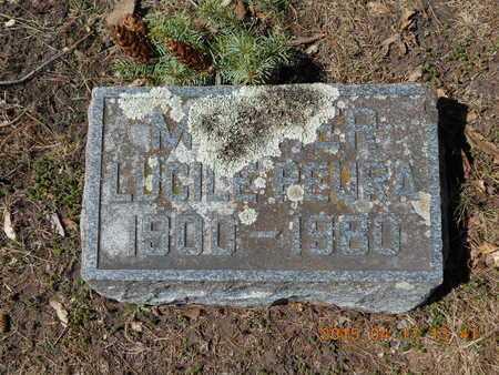 PEURA, LUCILE - Marquette County, Michigan | LUCILE PEURA - Michigan Gravestone Photos