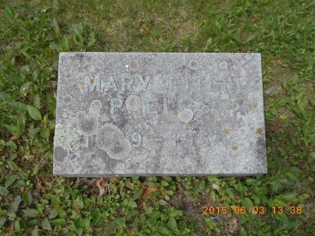 PHELPS, MARY - Marquette County, Michigan | MARY PHELPS - Michigan Gravestone Photos