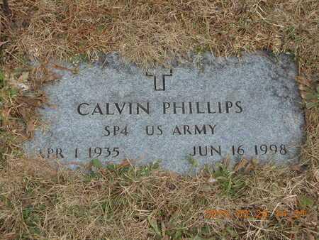 PHILLIPS, CALVIN - Marquette County, Michigan | CALVIN PHILLIPS - Michigan Gravestone Photos