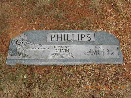 PHILLIPS, CALVIN - Marquette County, Michigan | CALVIN PHILLIPS - Michigan Gravestone Photos