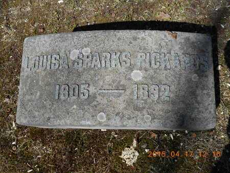 PICKANDS, LOUISA - Marquette County, Michigan | LOUISA PICKANDS - Michigan Gravestone Photos