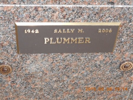 PLUMMER, SALLY M. - Marquette County, Michigan   SALLY M. PLUMMER - Michigan Gravestone Photos