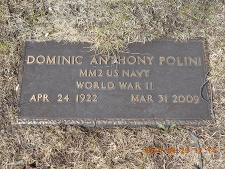 POLINI, DOMINIC ANTHONY - Marquette County, Michigan | DOMINIC ANTHONY POLINI - Michigan Gravestone Photos