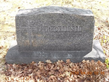 POLINI, FAMILY - Marquette County, Michigan | FAMILY POLINI - Michigan Gravestone Photos