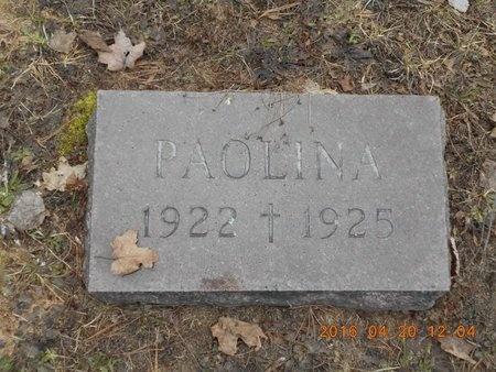 POLINI, PAOLINA - Marquette County, Michigan | PAOLINA POLINI - Michigan Gravestone Photos