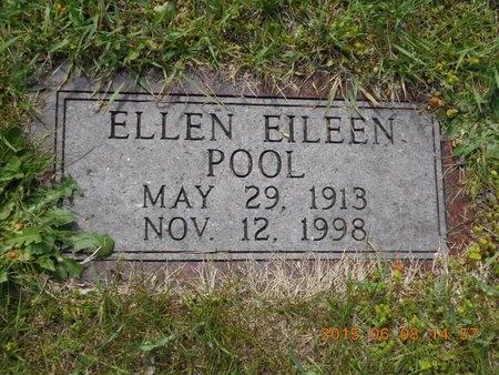 POOL, ELLEN EILEEN - Marquette County, Michigan   ELLEN EILEEN POOL - Michigan Gravestone Photos