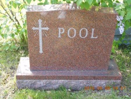 POOL, FAMILY - Marquette County, Michigan   FAMILY POOL - Michigan Gravestone Photos