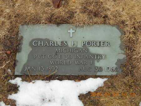 PORTER, CHARLES H. - Marquette County, Michigan | CHARLES H. PORTER - Michigan Gravestone Photos