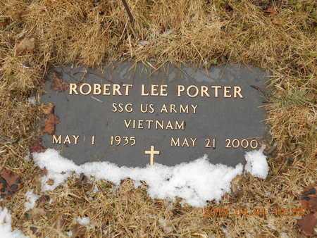 PORTER, ROBERT LEE - Marquette County, Michigan   ROBERT LEE PORTER - Michigan Gravestone Photos
