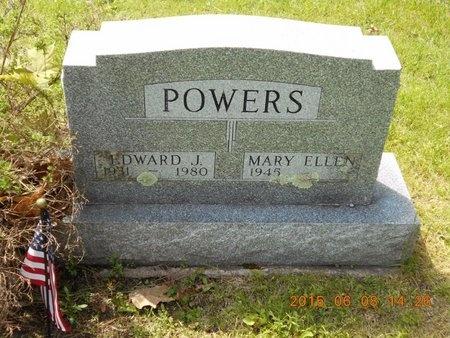 POWERS, EDWARD J. - Marquette County, Michigan | EDWARD J. POWERS - Michigan Gravestone Photos