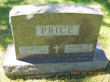 PRICE, BERNARD W. - Marquette County, Michigan   BERNARD W. PRICE - Michigan Gravestone Photos