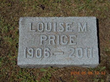 PRICE, LOUISE M. - Marquette County, Michigan   LOUISE M. PRICE - Michigan Gravestone Photos