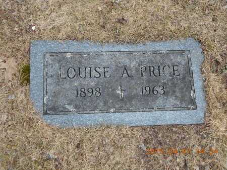 PRICE, LOUISE A. - Marquette County, Michigan   LOUISE A. PRICE - Michigan Gravestone Photos