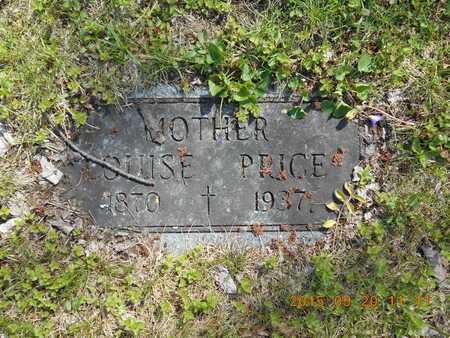 PRICE, LOUISE - Marquette County, Michigan   LOUISE PRICE - Michigan Gravestone Photos