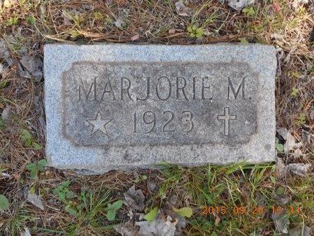 PRICE, MARJORIE M. - Marquette County, Michigan   MARJORIE M. PRICE - Michigan Gravestone Photos