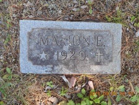 PRICE, MARION E. - Marquette County, Michigan   MARION E. PRICE - Michigan Gravestone Photos