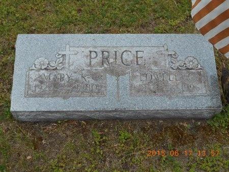 PRICE, MARY K. - Marquette County, Michigan | MARY K. PRICE - Michigan Gravestone Photos