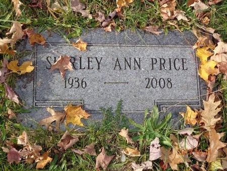 PRICE, SHIRLEY ANN - Marquette County, Michigan | SHIRLEY ANN PRICE - Michigan Gravestone Photos