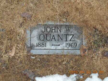 QUANTZ, JOHN W. - Marquette County, Michigan | JOHN W. QUANTZ - Michigan Gravestone Photos