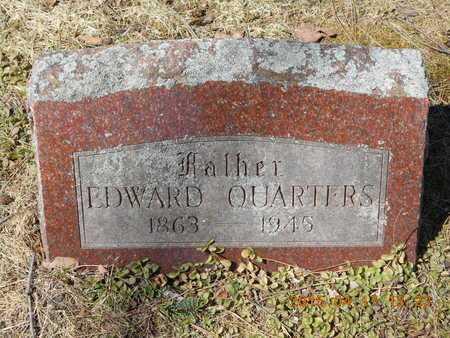 QUARTERS, EDWARD - Marquette County, Michigan | EDWARD QUARTERS - Michigan Gravestone Photos