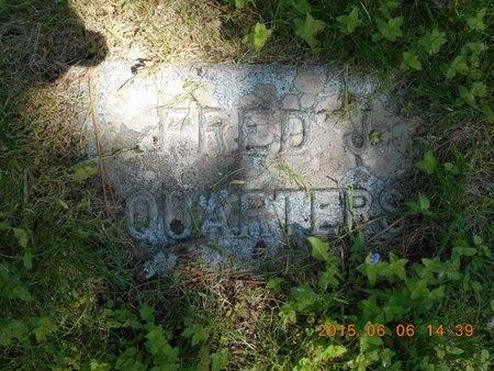 QUARTERS, FRED J. - Marquette County, Michigan | FRED J. QUARTERS - Michigan Gravestone Photos