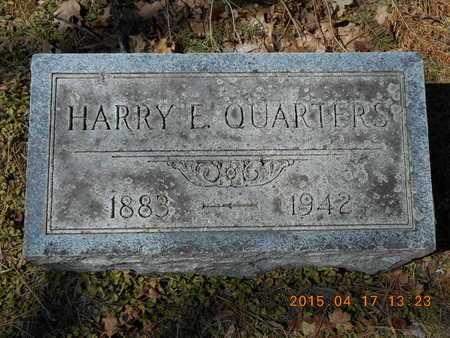 QUARTERS, HARRY E. - Marquette County, Michigan | HARRY E. QUARTERS - Michigan Gravestone Photos