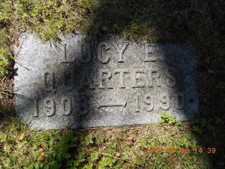 QUARTERS, LUCY E. - Marquette County, Michigan   LUCY E. QUARTERS - Michigan Gravestone Photos