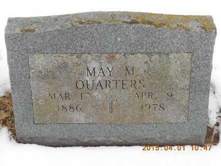 QUARTERS, MAY M. - Marquette County, Michigan   MAY M. QUARTERS - Michigan Gravestone Photos