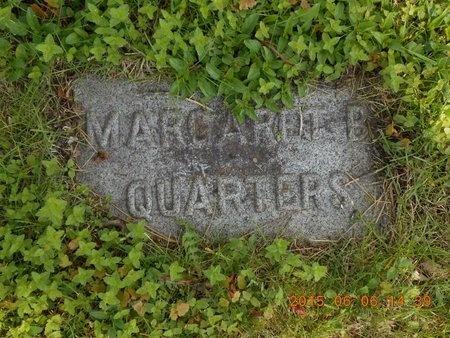 QUARTERS, MARGARET B. - Marquette County, Michigan | MARGARET B. QUARTERS - Michigan Gravestone Photos