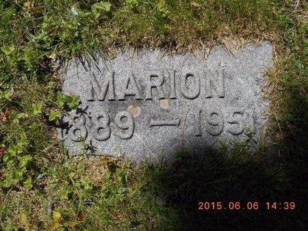 QUARTERS, MARION - Marquette County, Michigan | MARION QUARTERS - Michigan Gravestone Photos