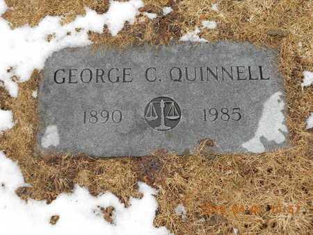 QUINNELL, GEORGE C. - Marquette County, Michigan | GEORGE C. QUINNELL - Michigan Gravestone Photos