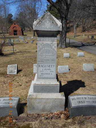 RAGUSETT, FAMILY - Marquette County, Michigan | FAMILY RAGUSETT - Michigan Gravestone Photos