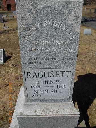 RAGUSETT, MILDRED L. - Marquette County, Michigan | MILDRED L. RAGUSETT - Michigan Gravestone Photos