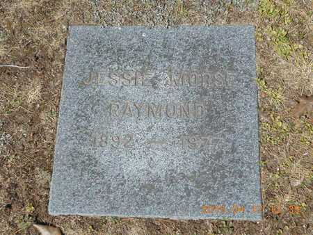 RAYMOND, JESSIE - Marquette County, Michigan   JESSIE RAYMOND - Michigan Gravestone Photos
