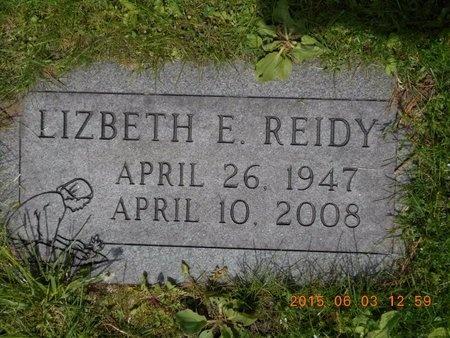 REIDY, LIZBETH E. - Marquette County, Michigan | LIZBETH E. REIDY - Michigan Gravestone Photos