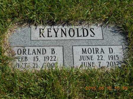 REYNOLDS, MOIRA D. - Marquette County, Michigan | MOIRA D. REYNOLDS - Michigan Gravestone Photos