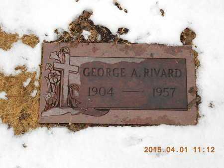 RIVARD, GEORGE A. - Marquette County, Michigan   GEORGE A. RIVARD - Michigan Gravestone Photos