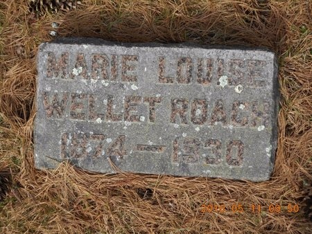 ROACH, MARY LOUISE - Marquette County, Michigan | MARY LOUISE ROACH - Michigan Gravestone Photos