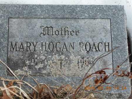 HOGAN ROACH, MARY - Marquette County, Michigan | MARY HOGAN ROACH - Michigan Gravestone Photos
