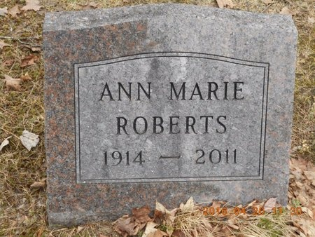 ROBERTS, ANN MARIE - Marquette County, Michigan   ANN MARIE ROBERTS - Michigan Gravestone Photos
