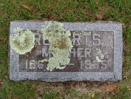 ROBERTS, ANNIE - Marquette County, Michigan   ANNIE ROBERTS - Michigan Gravestone Photos
