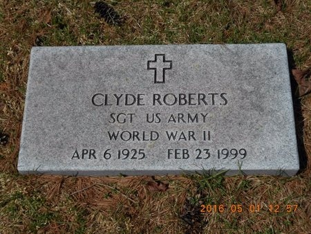 ROBERTS, CLYDE - Marquette County, Michigan | CLYDE ROBERTS - Michigan Gravestone Photos