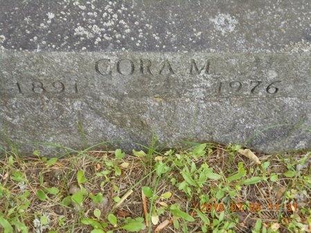 ROBERTS, CORA M. - Marquette County, Michigan   CORA M. ROBERTS - Michigan Gravestone Photos
