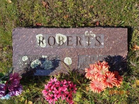 ROBERTS, LILLIAN - Marquette County, Michigan | LILLIAN ROBERTS - Michigan Gravestone Photos