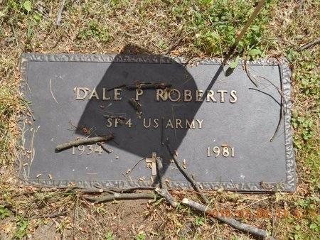 ROBERTS, DALE P. - Marquette County, Michigan | DALE P. ROBERTS - Michigan Gravestone Photos