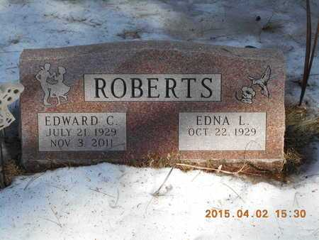 ROBERTS, EDWARD C. - Marquette County, Michigan | EDWARD C. ROBERTS - Michigan Gravestone Photos