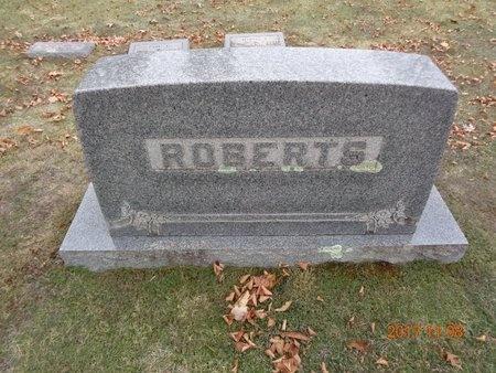 ROBERTS, FAMILY - Marquette County, Michigan | FAMILY ROBERTS - Michigan Gravestone Photos
